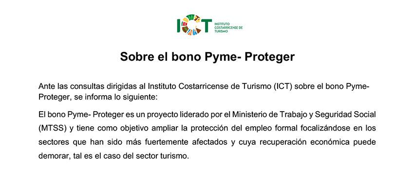 Statement ICT Bono Pyme Proteger