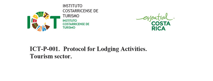 Protocol ICT-P-001 for Lodging Activities Tourism sector