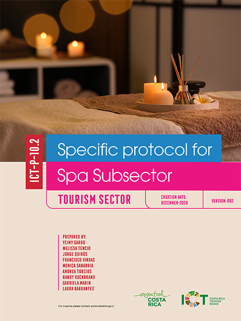 PROTOCOLO 10.2 Wellness Tourism Activities - Spa Subsector