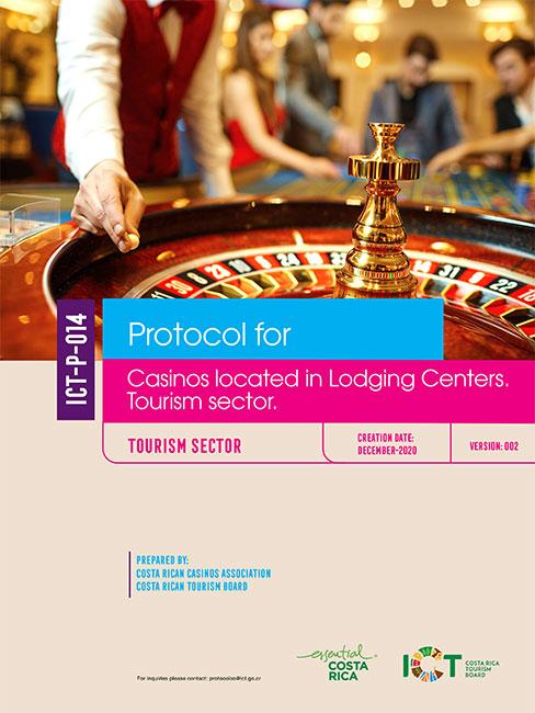 PROTOCOLO 14.  Casinos located in Lodging Centers