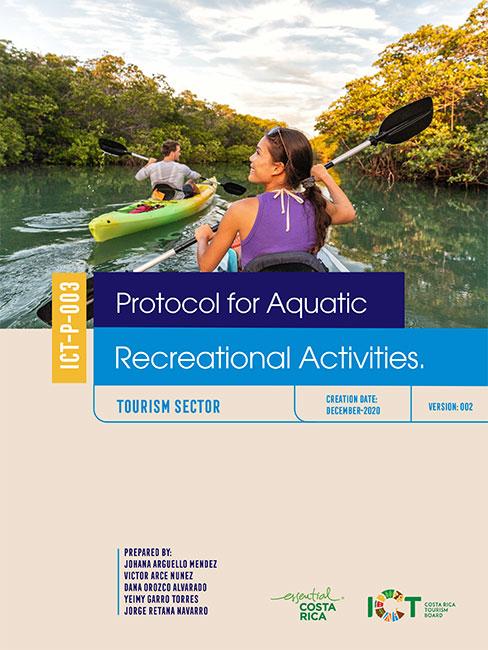 PROTOCOLO 03.  Aquatic Recreational Activities