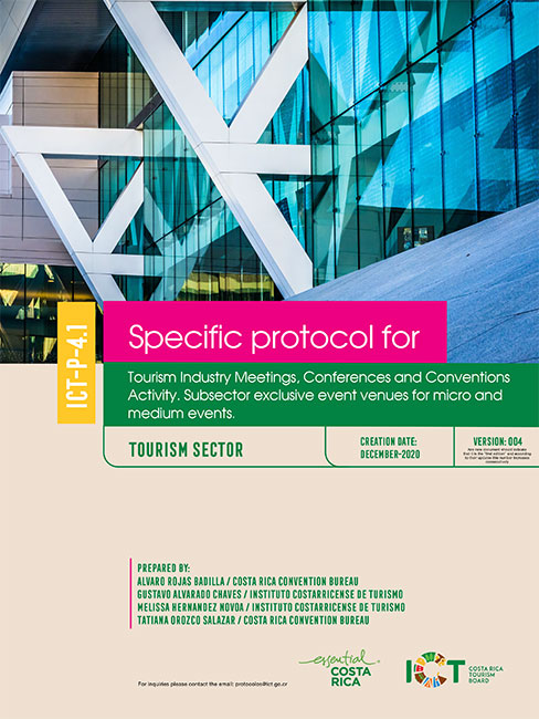 PROTOCOLO 04.1.  Conferences and Conventions  Venues