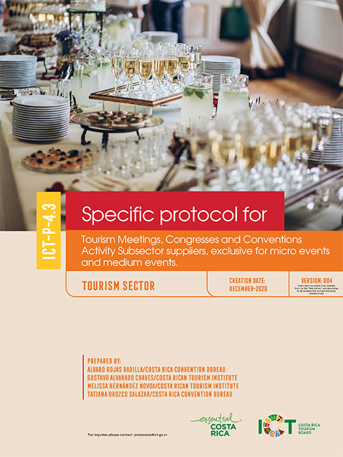 PROTOCOLO 04.3 Congresses and Conventions  Suppliers