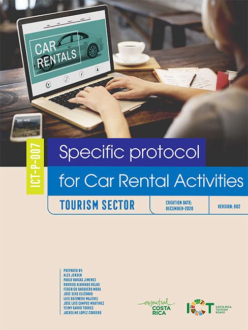 PROTOCOLO 07.  Car Rental Activities