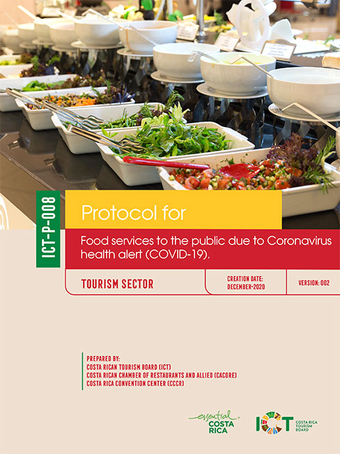 PROTOCOLO 08.  Food services to the public