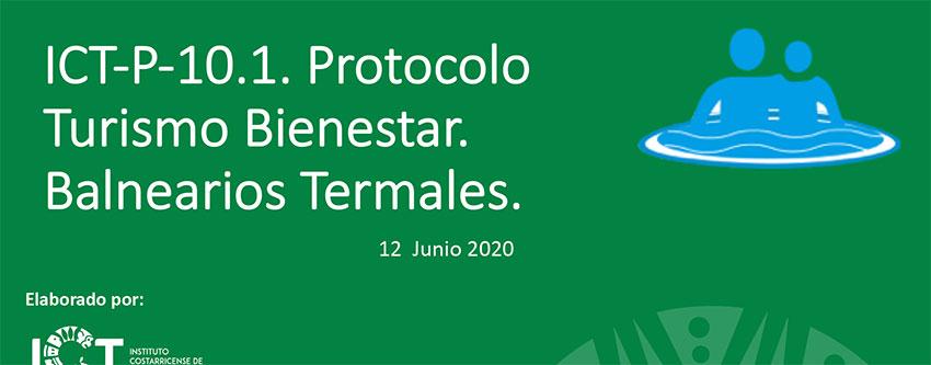 Presentación Protocolo Actividad Turismo de Bienestar Balnearios Termales