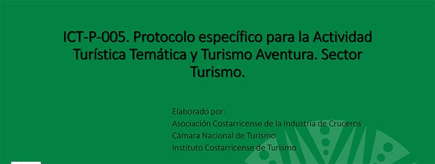 Presentación Protocolo Actividades Temáticas y de Aventura 2020