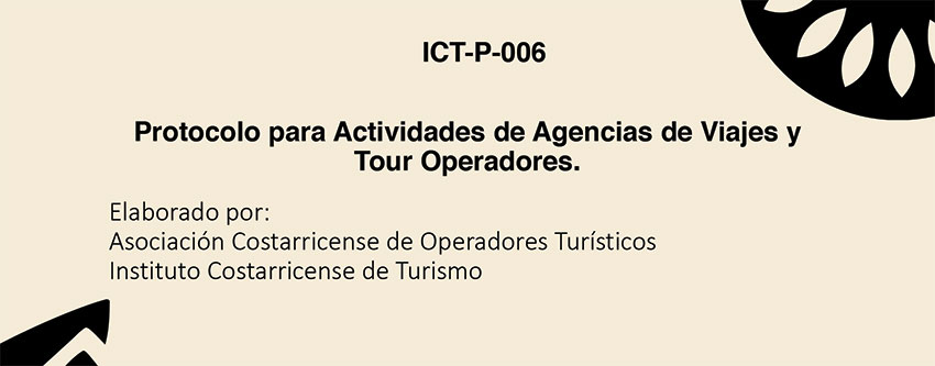 Presentación Protocolo Agencias de Viaje y Tour Operadores