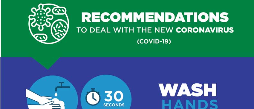 Recommendations Coronavirus